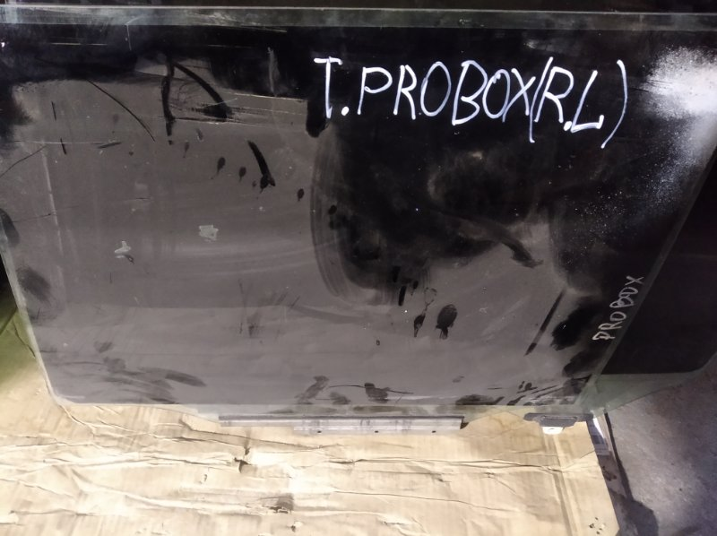 Стекло двери Toyota Probox NCP 51 1NZ-FE заднее левое
