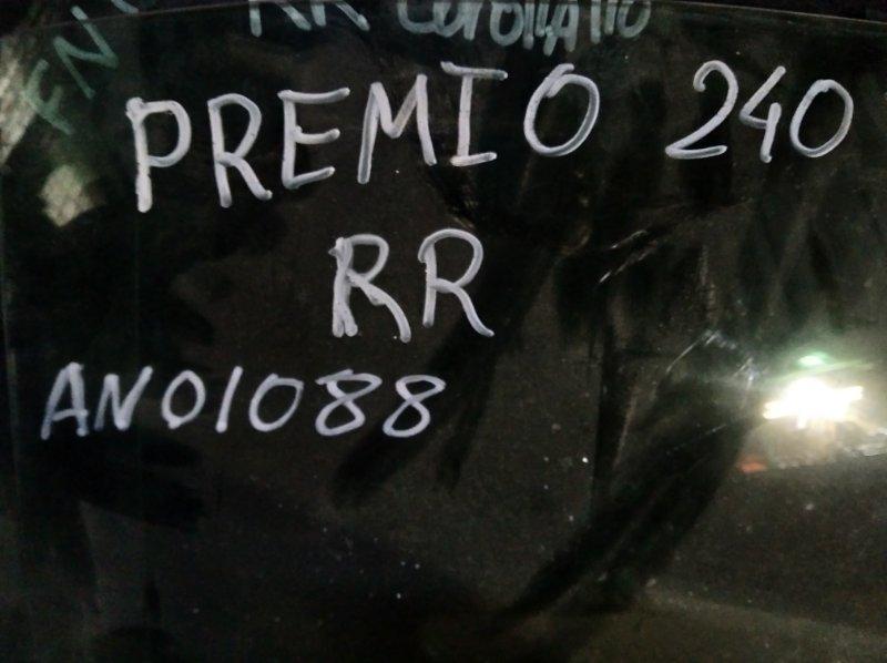 Стекло двери Toyota Premio ZZT 240 1ZZ FE заднее правое