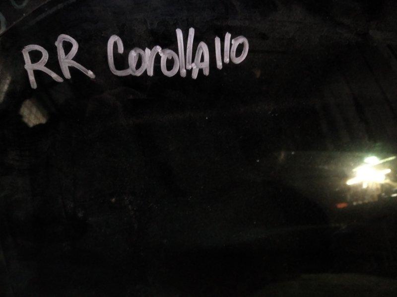 Стекло двери Toyota Corolla АЕ110 5AFE заднее правое