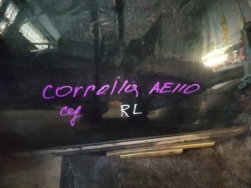 Стекло двери Toyota Corolla AE110 5AFE заднее левое