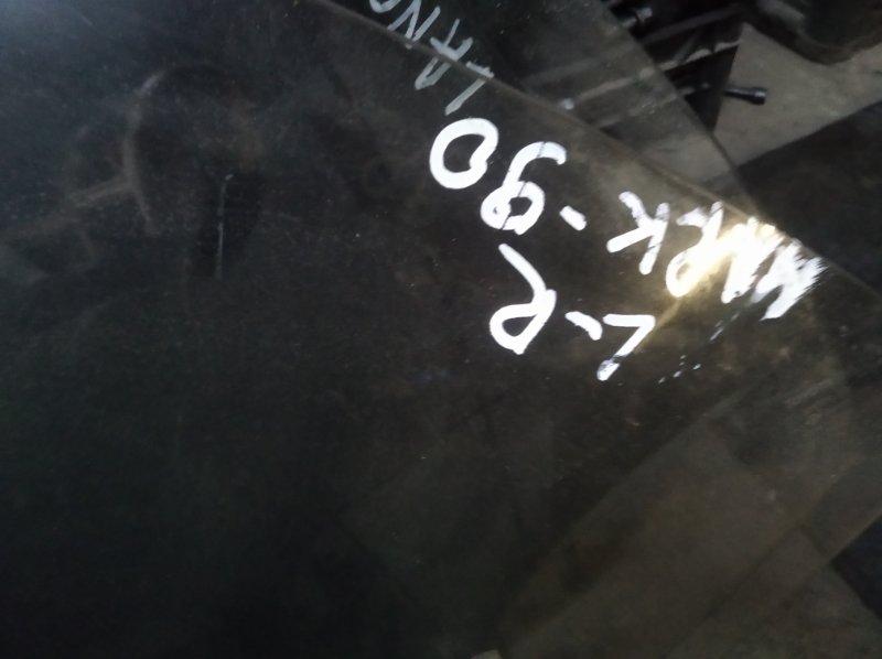 Стекло двери Toyota Mark Ii GX90 1GFE заднее левое