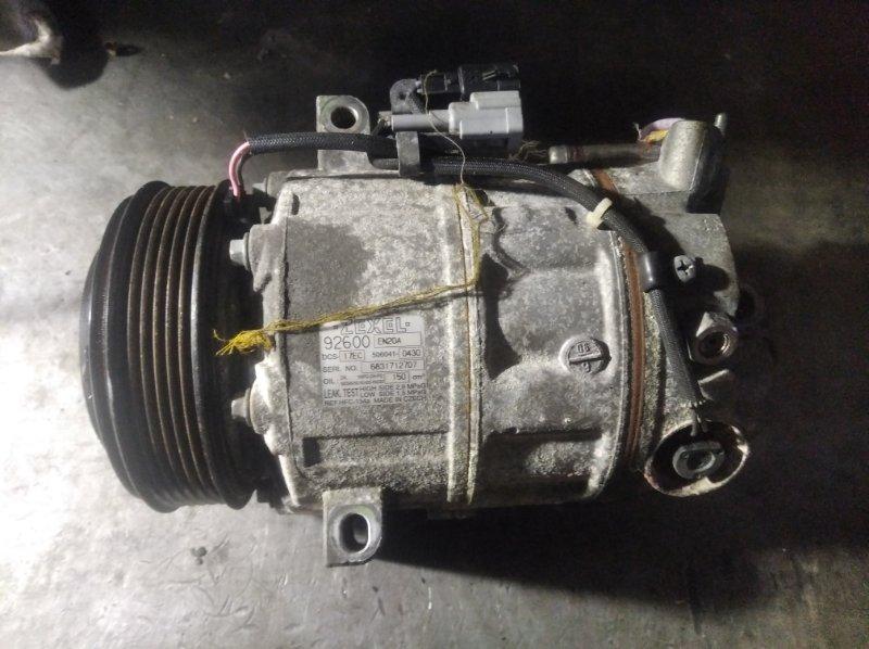 Компрессор кондиционера Nissan Qashqai J10 MR20DE