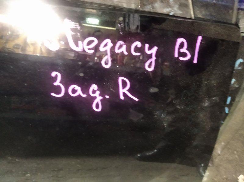 Стекло двери Subaru Legacy BG2 EJ-20 заднее правое