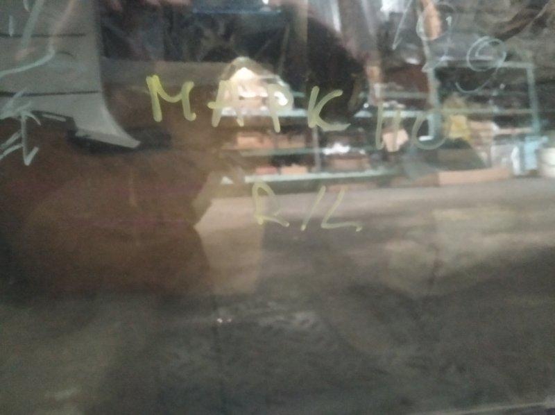 Стекло двери Toyota Mark Ii GX110 1GFE заднее левое