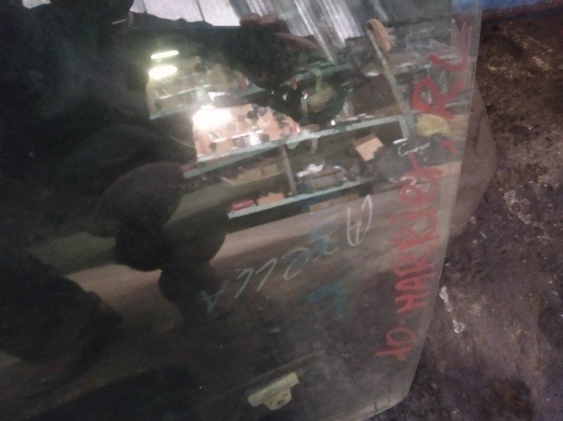 Стекло двери Toyota Harrier MCU10W 1MZFE заднее левое