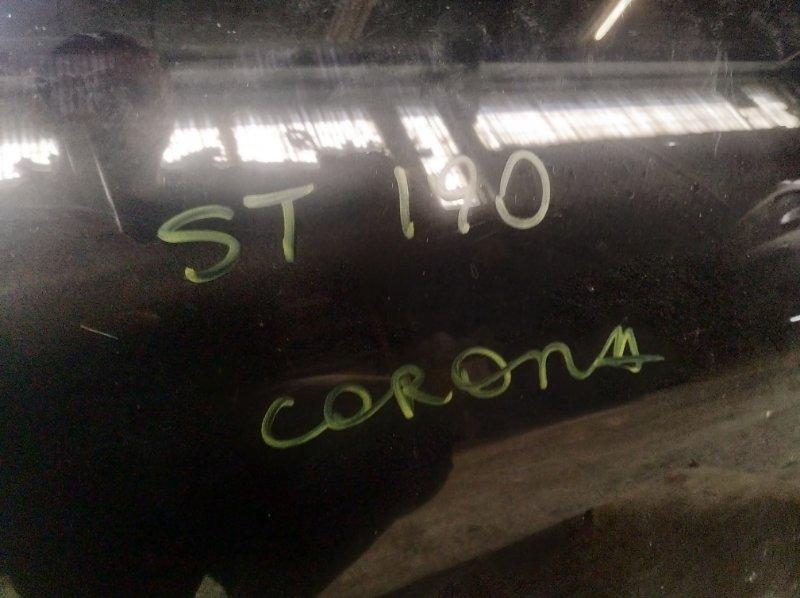 Стекло двери Toyota Corona ST190 3SFE заднее левое