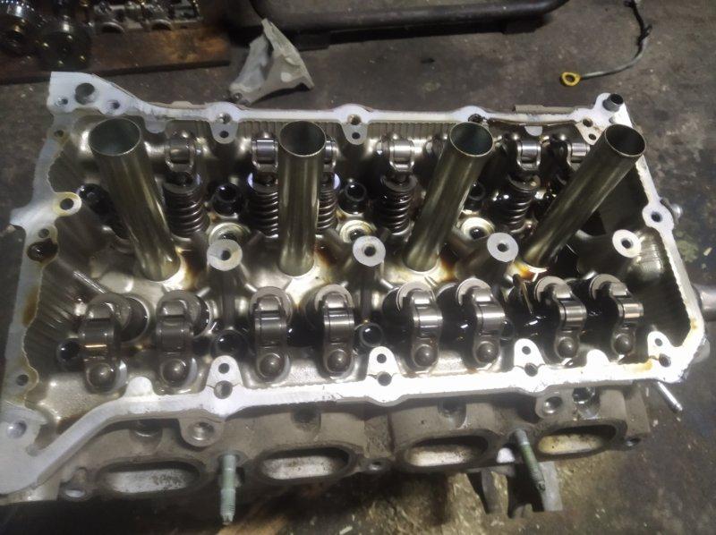 Головка блока цилиндров Toyota Corolla ZRE 151 1ZR-FAE