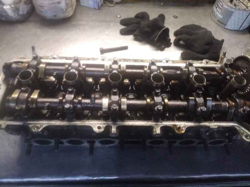 Головка блока цилиндров Toyota Mark Ii GX 100 1GFE BEAMS