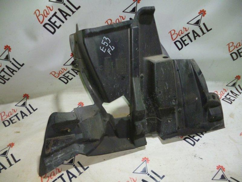 Защита двигателя левая BMW х5 E53, контр.