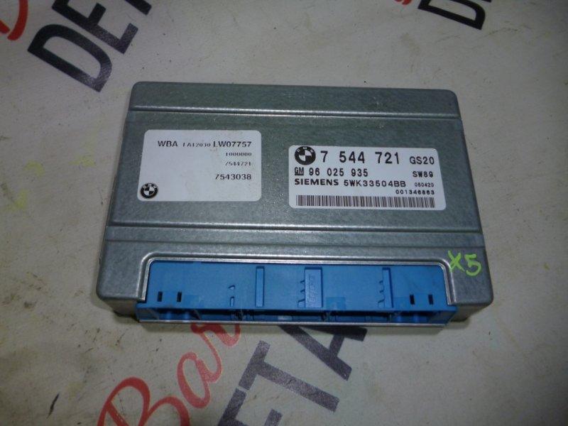 Блок управления акпп GS20 BMW х5 E53, контр.