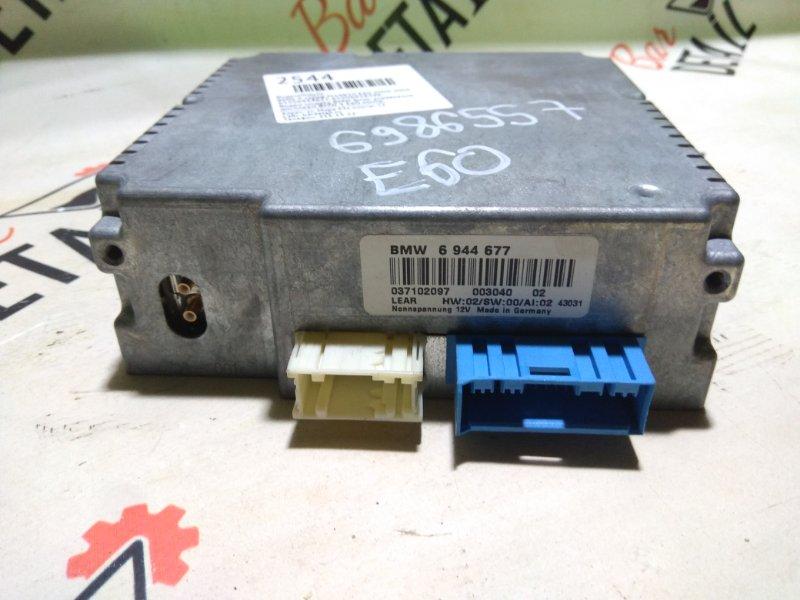 Видео модуль BMW Блок управления дисплеем BMW 5 E60 контр.