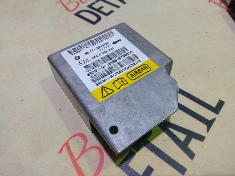 Блок управления airbag Bmw 5 Серия E39 M54B30 2001