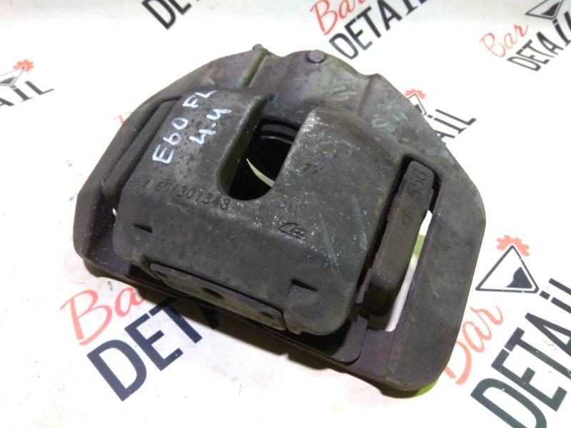 Суппорт тормозной Bmw 5 Серия E60 N62B44 2004 передний левый