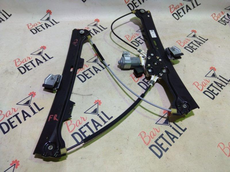 Стеклоподъемник Bmw 5 Серия E61 N52B25 2007 передний правый