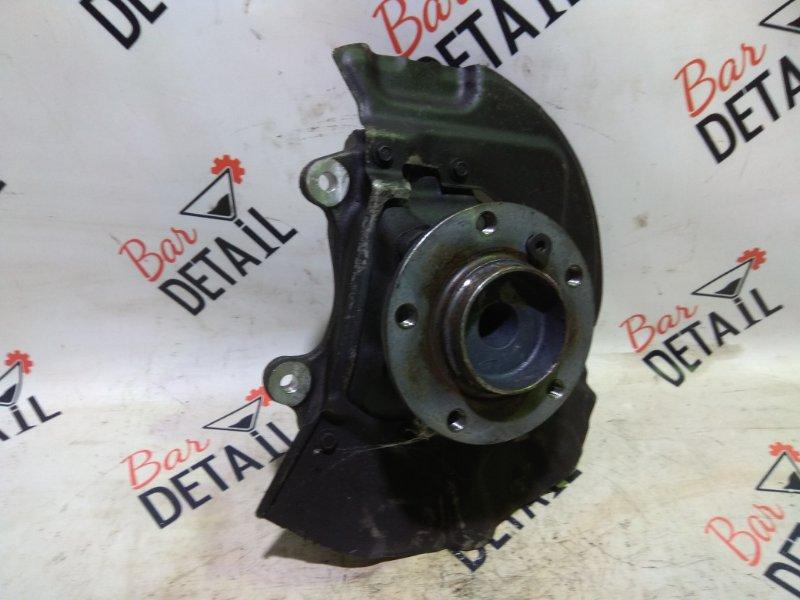 Кулак поворотный Bmw 5 Серия E60 N62B44 2004 передний правый