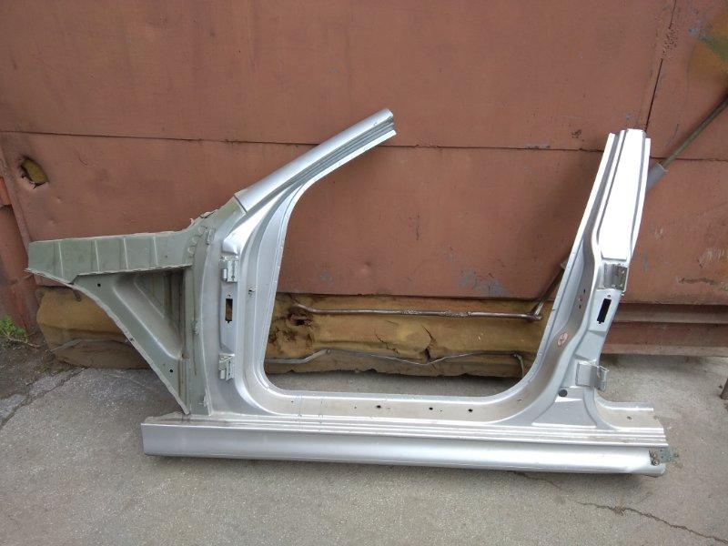 Порог кузова со средней стойкой левый BMW 5 E39 контр