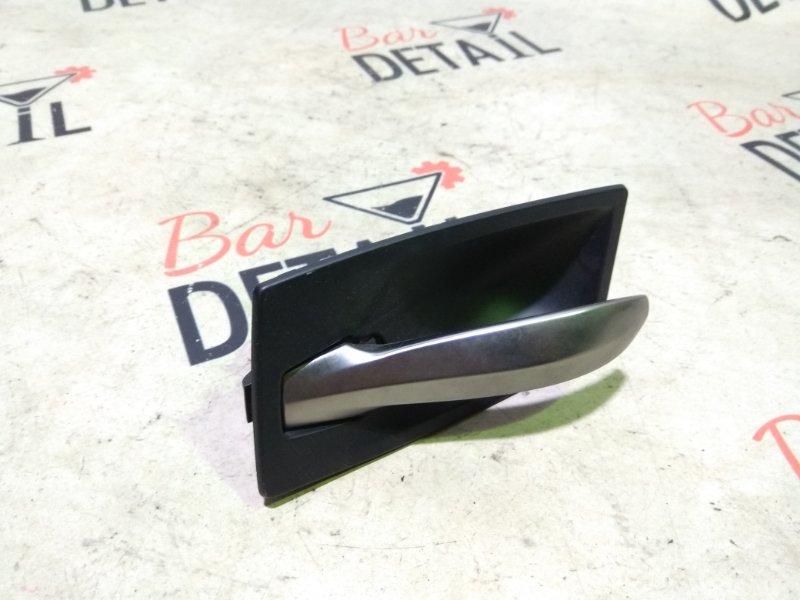 Ручка двери внутренняя левая черная BMW 5 E60_E61 контр.