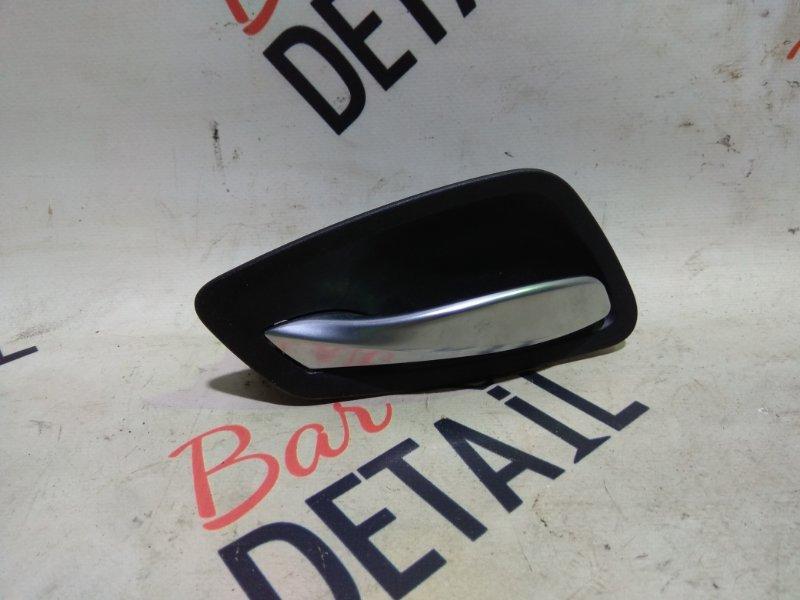Ручка двери внутренняя левая черная BMW 3 E90, контр.