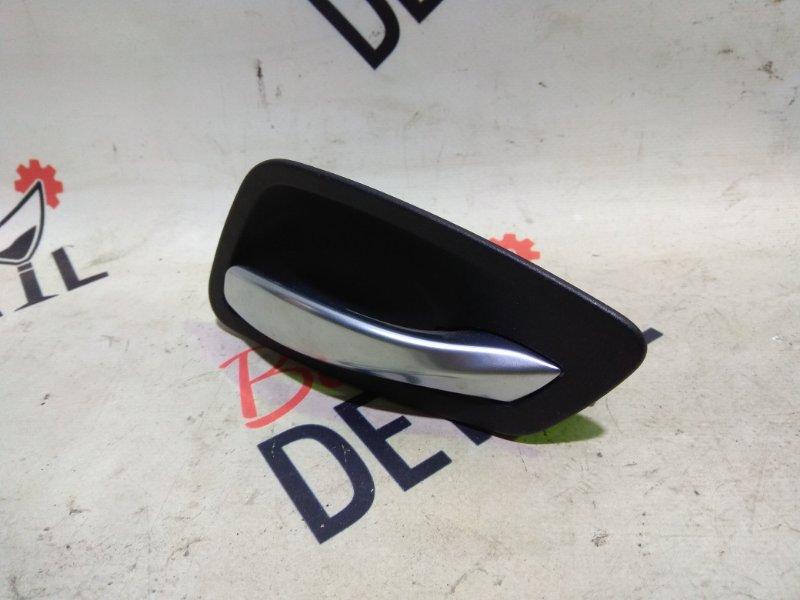 Ручка двери внутренняя правая черная BMW 3 E90, контр.