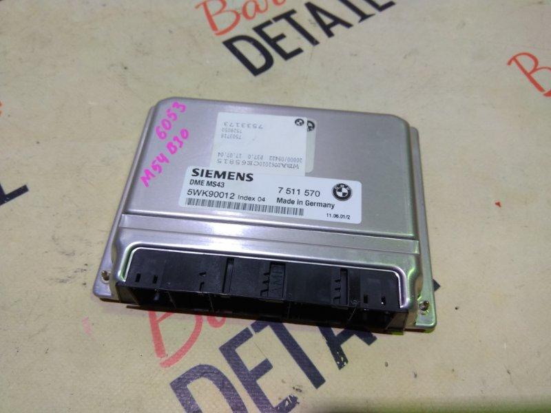 Блок управления двс Bmw 5 Серия E39 M54B30 2001