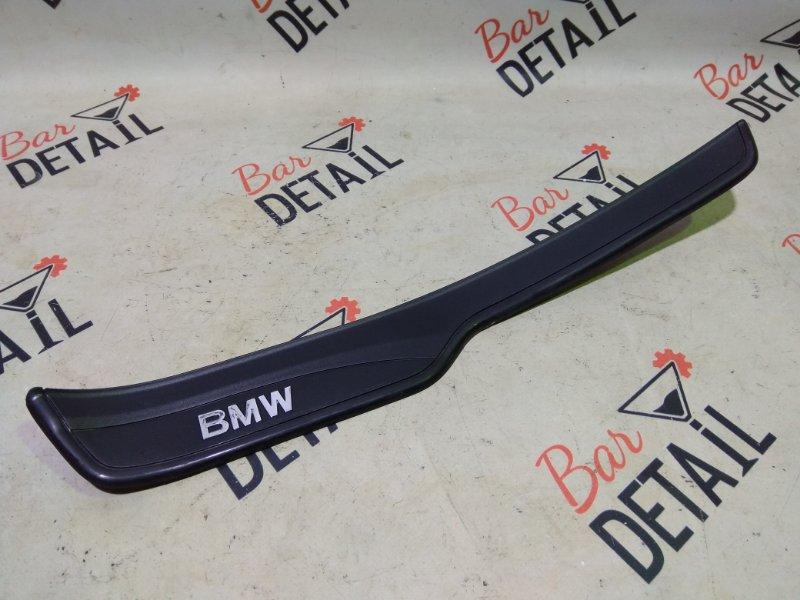 Накладки порогов задняя Л BMW 3 Series, E90 контр.