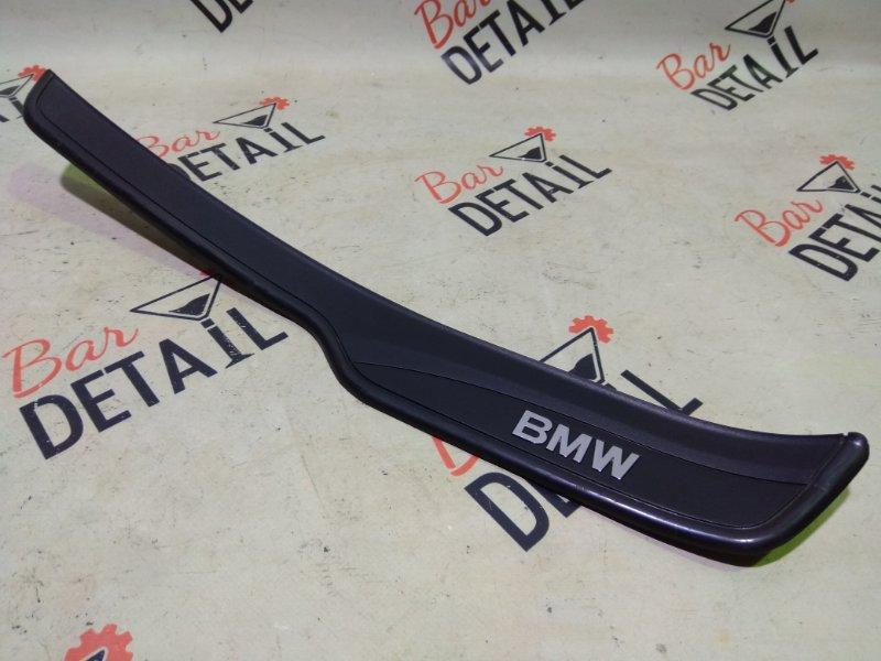 Накладки порогов задняя П BMW 3 Series, E90 контр.