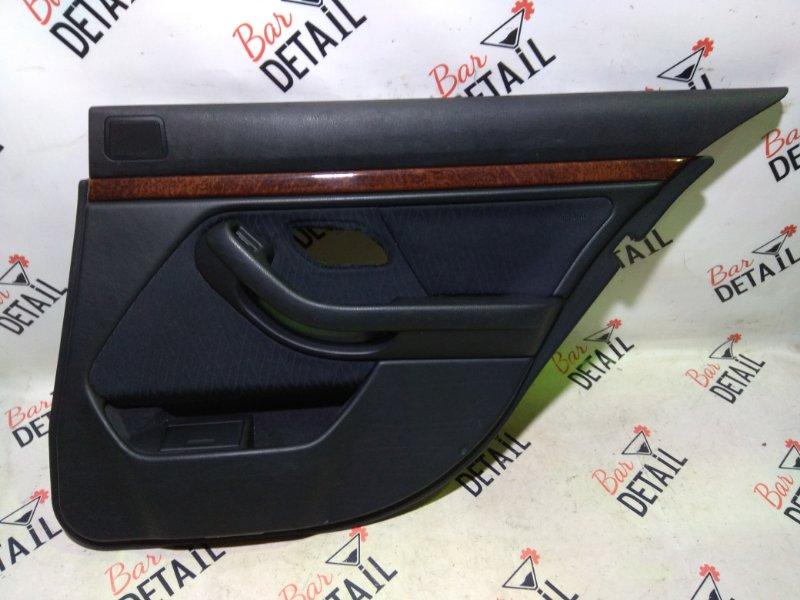 Обшивка двери задней правой ткань BMW 5 E39
