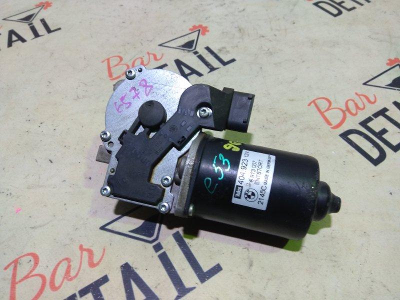 Мотор стеклоочистителя Bmw X5 E53 M54B30 передний