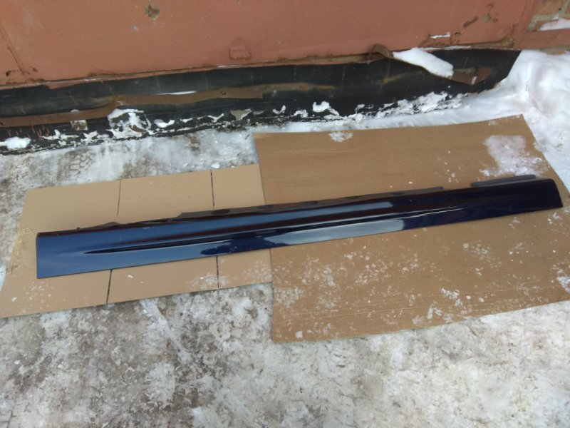 Порог пластиковый Bmw 3 Серия E46 M54B22 2002 левый