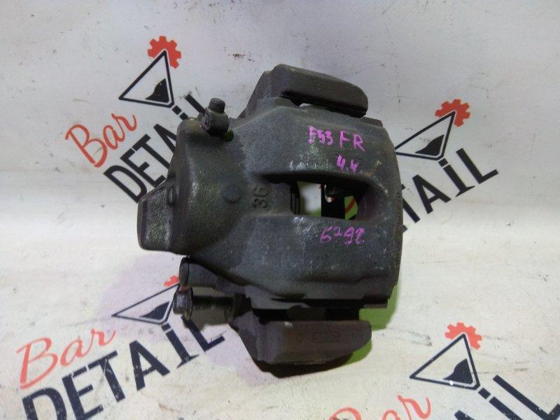 Суппорт тормозной Bmw X5 E53 N62B44 2006 передний правый