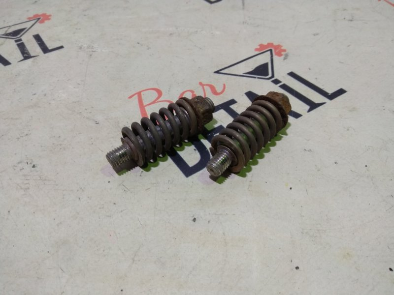 Крепление глушителя пружинка с гайкой (компл) BMW e90 N46B20 контр.