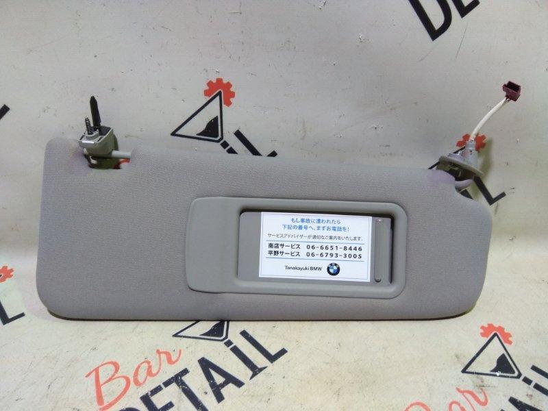 Козырек солнцезащитный Bmw 3 Серия E90 N46B20 2006 передний правый