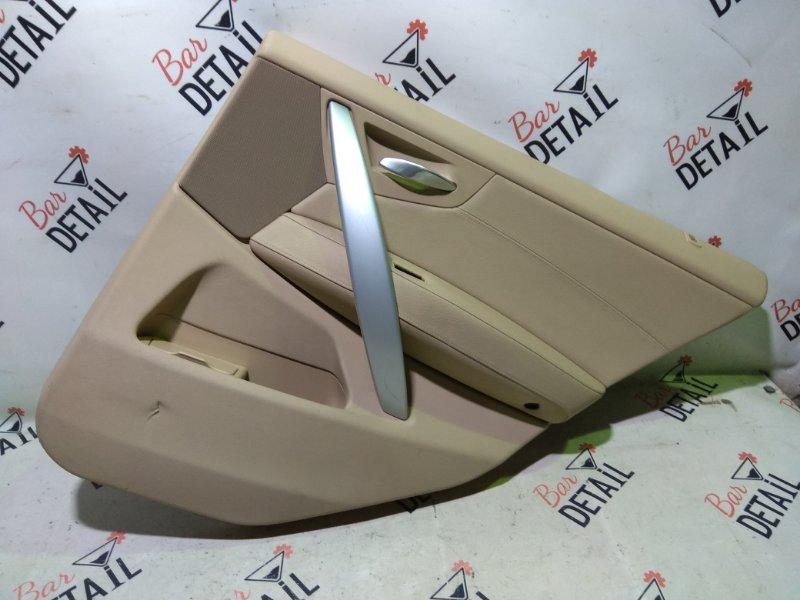 Обшивка двери Bmw X3 E83 N52B30K 2007 задняя правая
