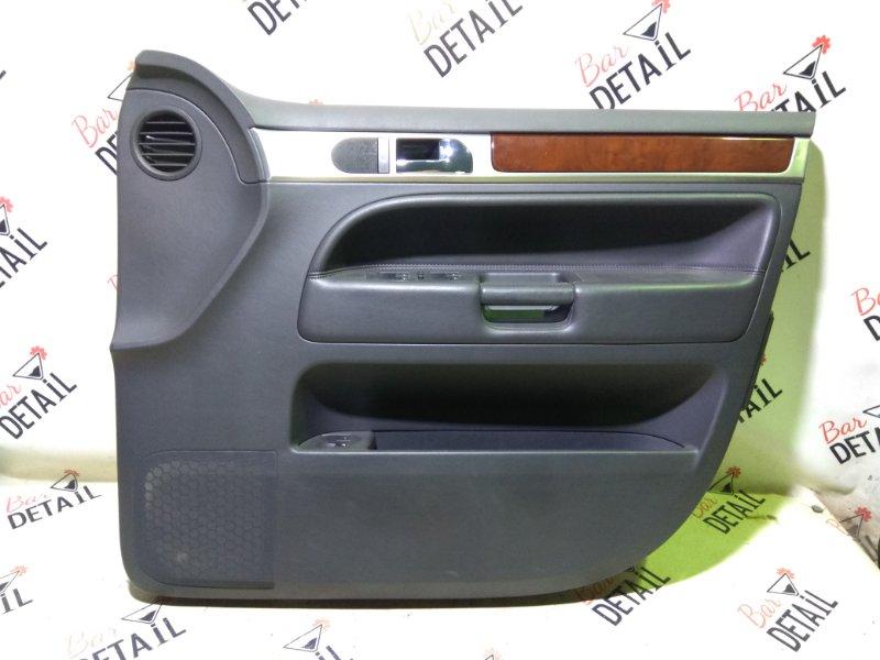 Обшивка двери Volkswagen Touareg 7L6 BHK 2008 передняя правая