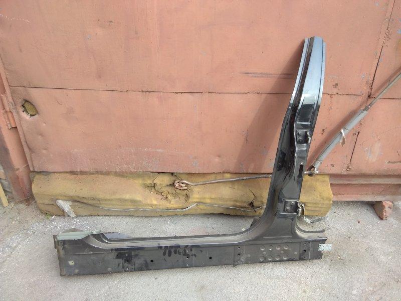 Стойка кузова средняя Bmw X5 E53 N62B44 2006 левая