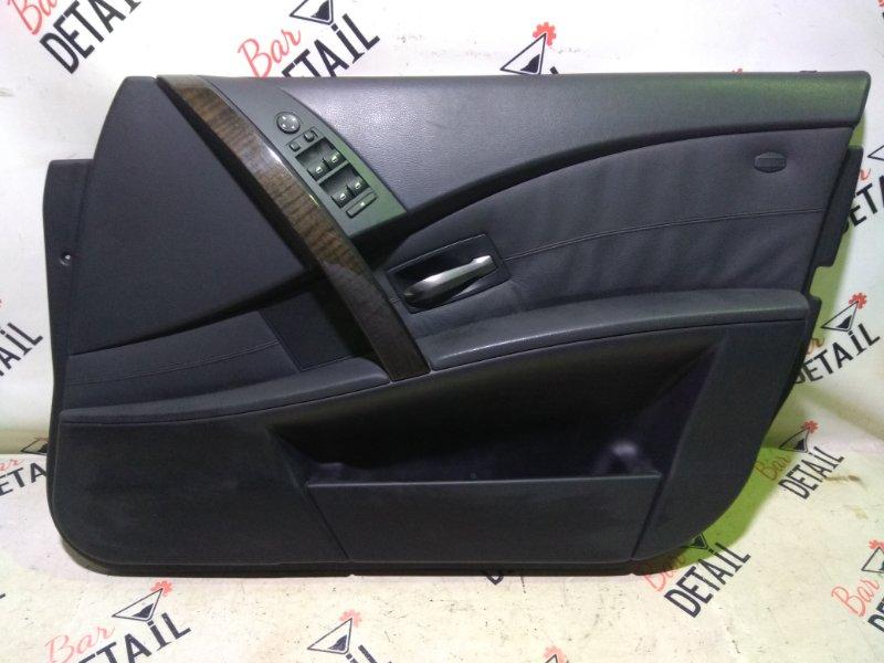 Обшивка двери Bmw 5 Серия E61 N52B25 2007 передняя правая