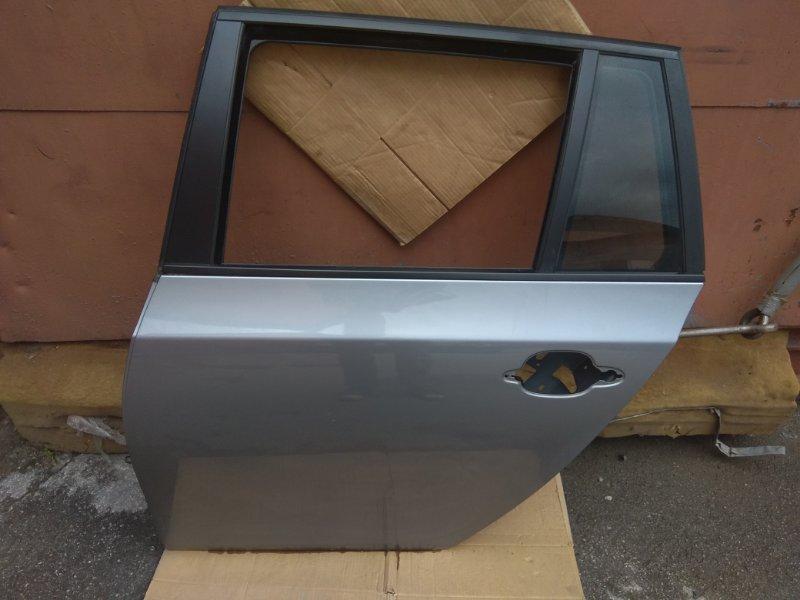 Дверь Bmw 5 Серия E61 N52B25 2007 задняя левая