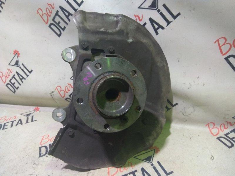 Кулак поворотный Bmw 5 Серия E61 N52B25 2007 передний правый