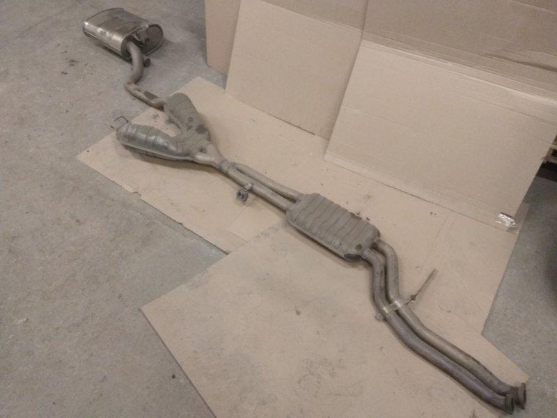 Глушитель (выхлопной тракт) Bmw 5 Серия E39 M54B25 2001