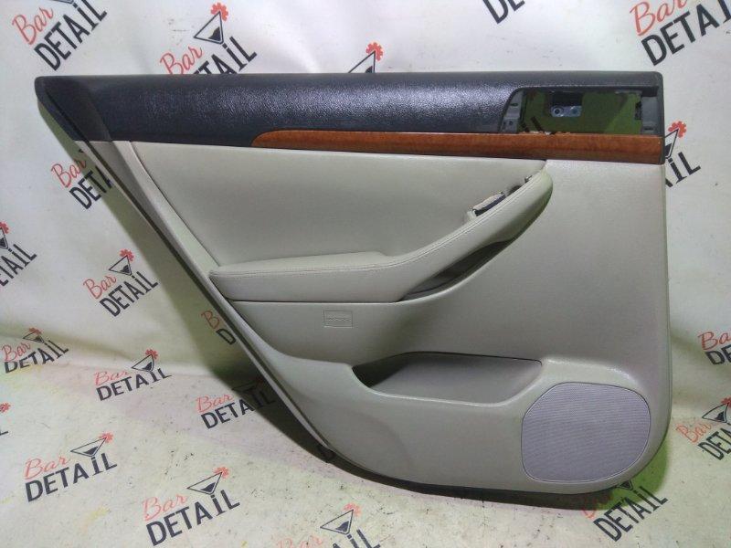 Обшивка двери Toyota Avensis AZT251 2AZFSE 2007 задняя левая
