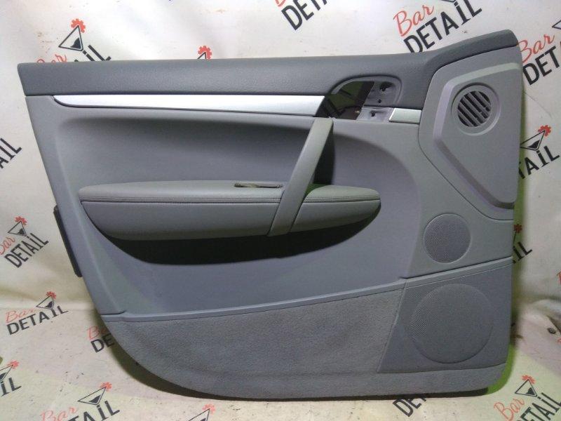 Обшивка двери Porsche Cayenne 957 M55.01 2009 передняя левая
