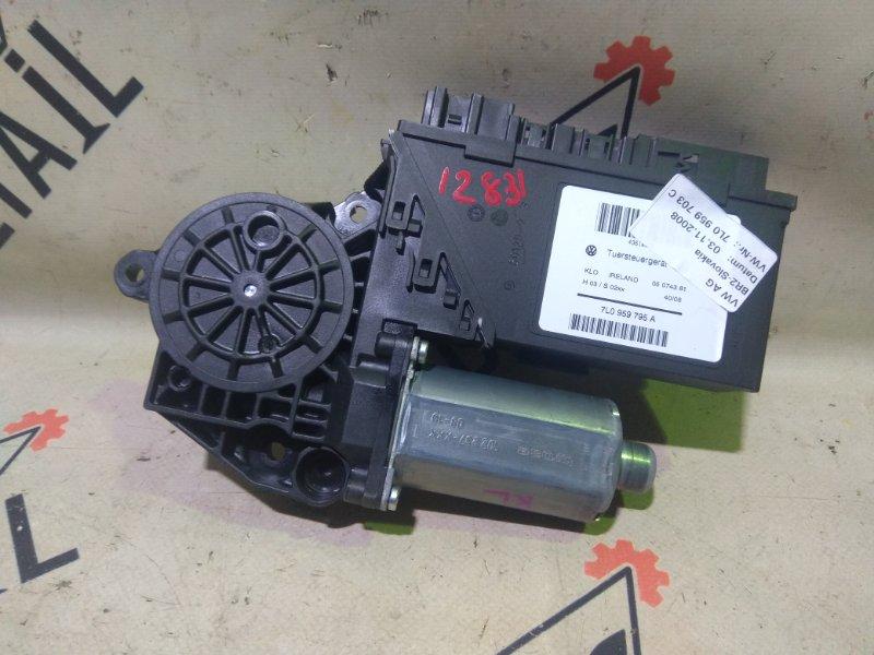 Моторчик стеклоподъёмника Porsche Cayenne 957 M55.01 2009 задний левый