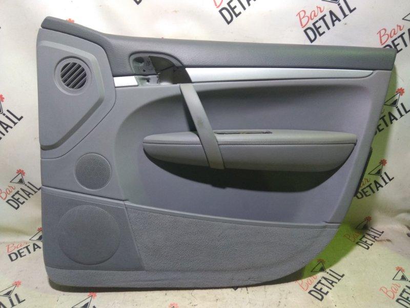 Обшивка двери Porsche Cayenne 957 M55.01 2009 передняя правая