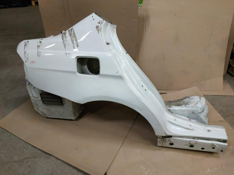 Крыло заднее правое BMW e90 контр.