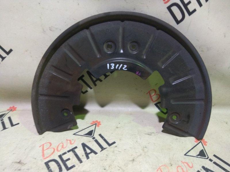 Кожух тормозного диска Porsche Cayenne 957 M55.01 2009 передний