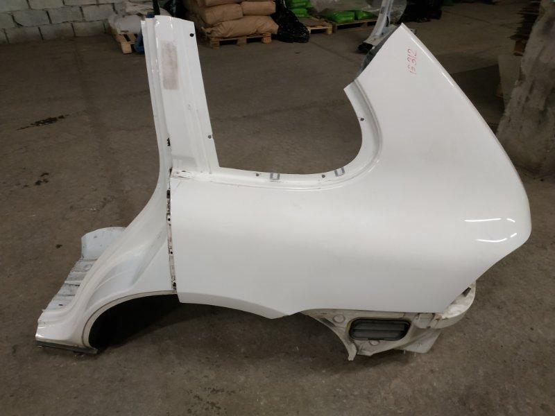 Крыло Porsche Cayenne 957 M55.01 2009 заднее левое