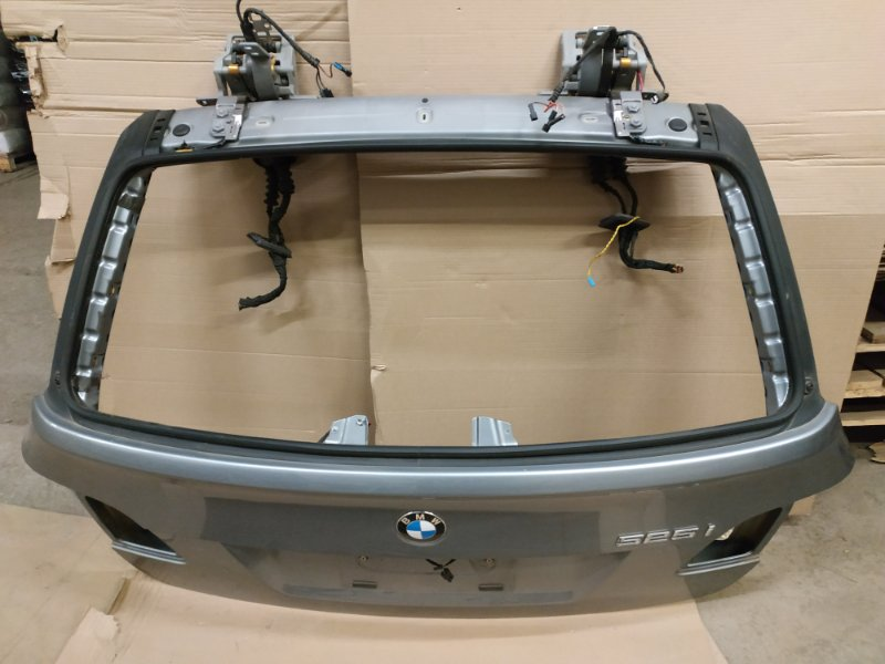 Крышка багажника Bmw 5 Серия E61 N52B25 2007 задняя