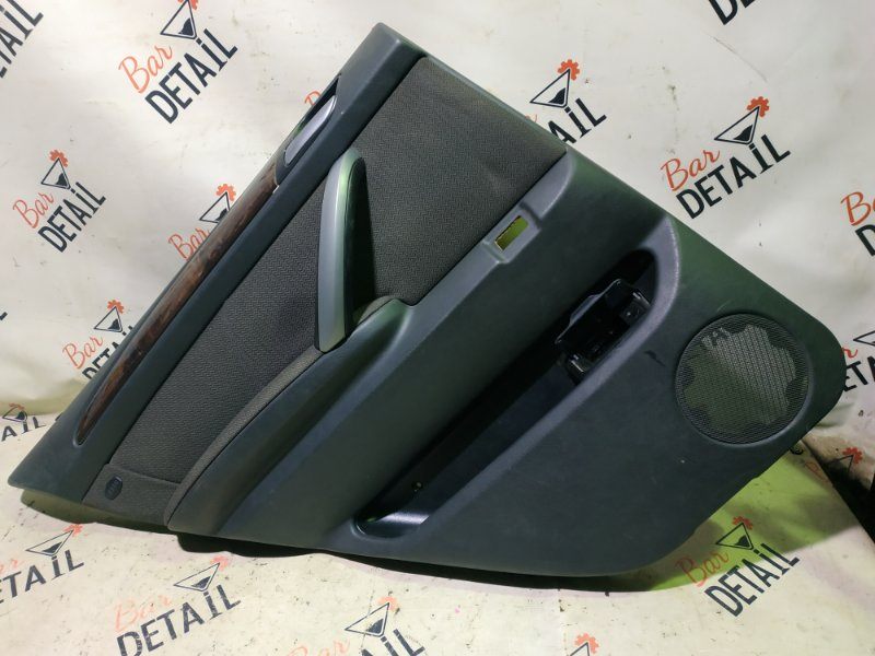 Обшивка двери Bmw X5 E53 M54B30 2005 задняя левая