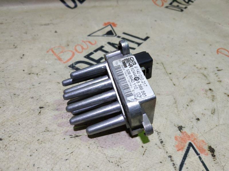 Регулятор печки (ежик) Bmw X5 E53 M54B30 2002 задний