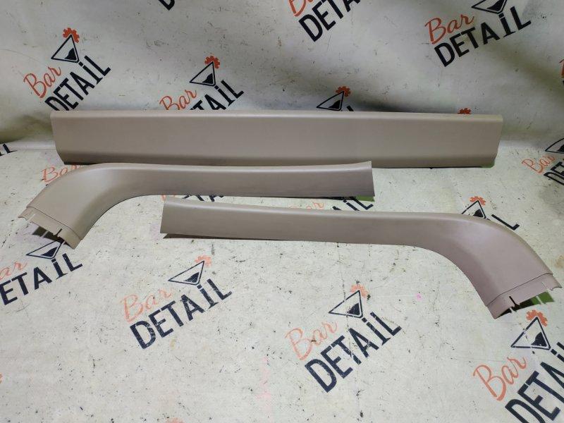 Обшивка крышки багажника Bmw X5 E53 M54B30 2002 верхняя